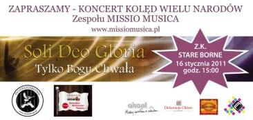 Koncert kolęd w Z.K. Stare Borne