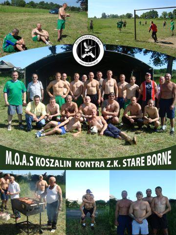Mecz M.O.A.S Koszalin kontra Z.K. Stare Borne
