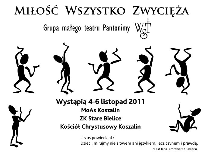 Występ Grupy małego teatru Pantomimy WST