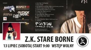 Koncert Poison w Z.K. Stare Borne