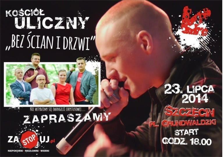 Kościół Uliczny w Szczecinie 23.07.2014r.