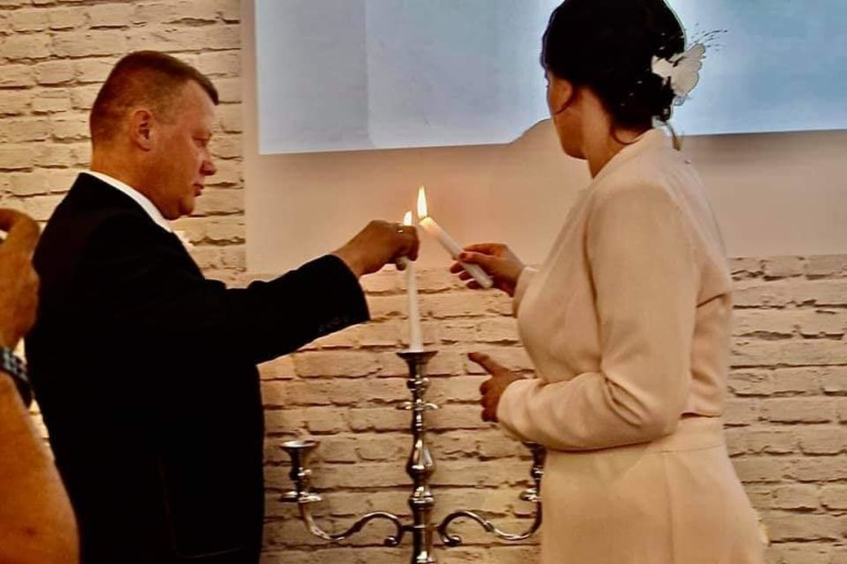 Zaślubiny Beaty i Bogusława